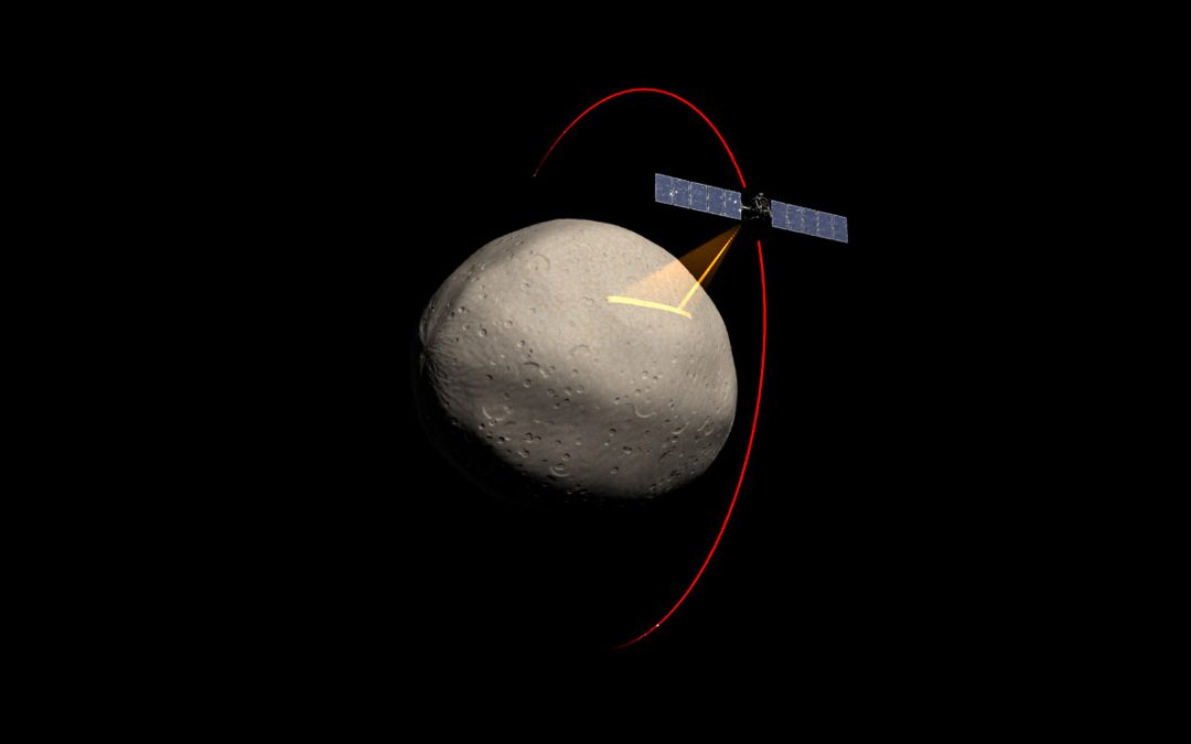 Dawn spacecraft closing in on Vesta